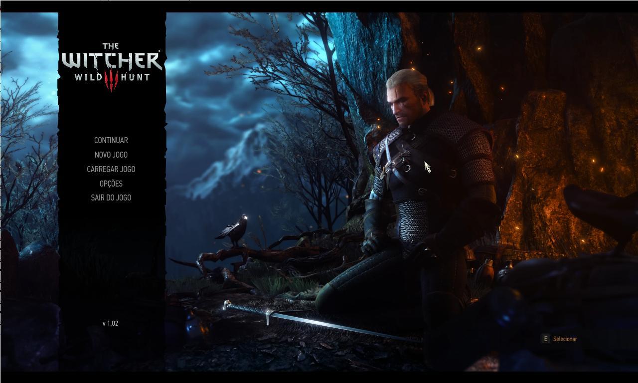 Witcher 3 início