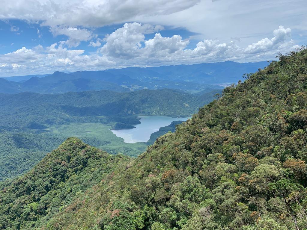 Foto da vista da Pedra da Jamanta.